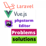 Laravel Vuejs phpStorm Editor some Problem solutions
